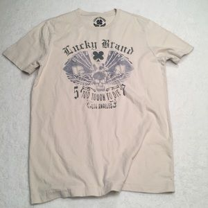 """LUCKY BRAND - """"TOO TOUGH TO DIE"""" graphic t-shirt"""